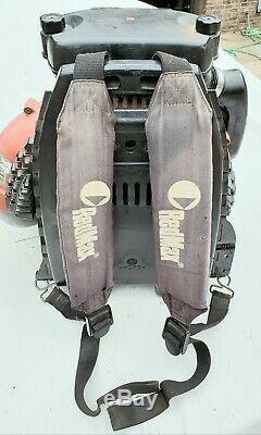 Redmax Ebz8500 Back Pack Souffleuse Bien Entretenu Et Fonctionne Très Bien Regard