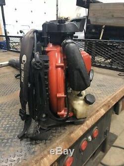 Redmax Ebz8500 Back Pack Souffleuse-utilisé Une Saison Run & IL Y A Lieu Fonction En