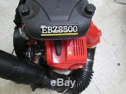 Redmax Ebz8500 Gaz Sac À Dos Souffleuse Belle