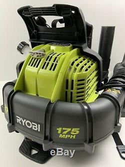 Ryobi 175 Mph 760 Cfm Gaz Sac À Dos Souffleuse