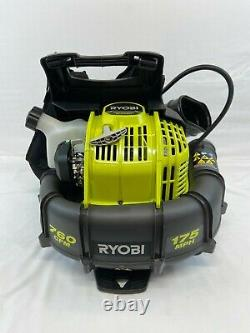 Ryobi 2 Cycle 38cc Souple À Dos De Gaz 175 Mph 760 Cfm Ry38bpvnm