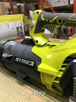 Ryobi Gaz Souffleuse 160 Mph 520 Cfm 25cc Jet Fan Design Vitesse Réglable