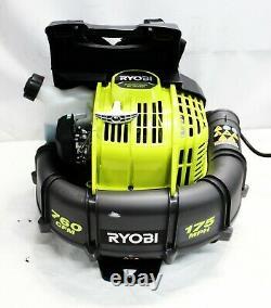 Ryobi Ry38bp 175-mph 760-cfm 38cc Souple À Dos De Gaz Nouveau