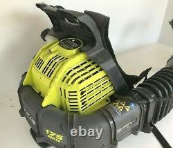 Ryobi Ry38bp Backpack Leaf Blower 175 Mph 760 Cfm 38cc 2-cycle Gas, Gd