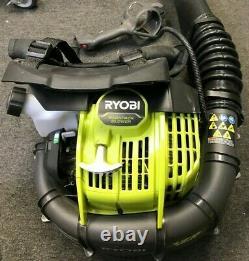 Ryobi Ry38bp Souple À Dos 175 Mph 760 Cfm 38cc 2-cycle Gas, Gd M