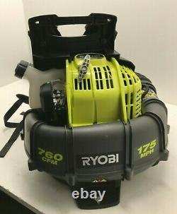 Ryobi Ry38bp Souple À Dos 17 Mph 760cfm 38cc 2-cycle Gas Gr M