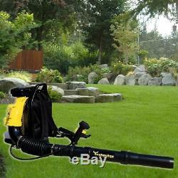 Sac À Dos Blower Leaf Blower 80cc 2-cycle Gaz 850 Cfm Certifié Epa Livraison Gratuite