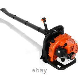 Sac À Dos Commercial Leaf Blower Gas Powered Grass Lawn Blower 2-stroke 63cc Nouveau