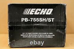 Souffle À Dos Alimenté Au Gaz Echo 63.3cc Pb-755sh/st (nouveau Livraison Gratuite)