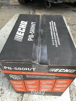 Souffle Echo Backpack Pb-580h/t 58.2cc Souffle Echo Backpack Alimenté Au Gaz Nouveau
