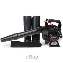 Souffleur À Feuilles À Essence Craftsman 27 CC Avec Kit D'aspiration 450 Pcm 205 Mph Easy Starts