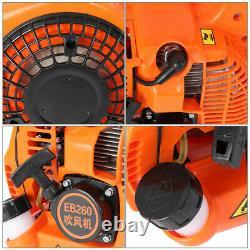 Souffleur À Feuilles À Main 2 Temps, Moteur À Essence 26cc, 375 Cfm 195 Mph 7500 RPM Orange