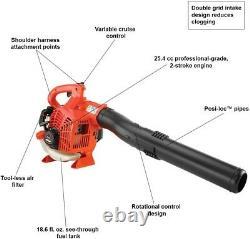 Souffleur De Feuilles De Gaz Echo 170 Mph 453 Cfm 25.4cc 2-stroke Vitesse Variable