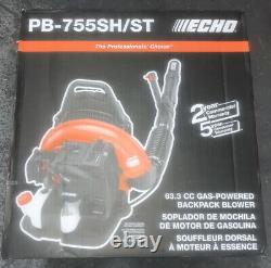 Souffleur De Feuilles Echo Gas Powered Back Pack 63.3cc Pb-755sh/st