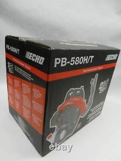 Souffleur De Feuilles Echo Pb-580h/t Alimenté Au Gaz