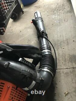Souffleur De Feuilles Echo Pb-8010t Utilisé, Le Plus Puissant De L'industrie! Manette Des Gaz Du Tube