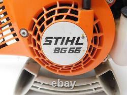 Stihl Bg55 27.2cc Souple À Main Alimentée Au Gaz 418cfm 140mph