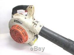 Stihl Bg85c Gas Powered Handheld Souffleuse, Fonctionne Bien