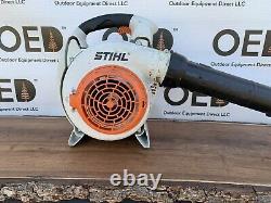 Stihl Bg86 Commercial Handheld Gas Leaf Blower 27cc Strong Runner Navires Expres