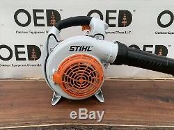 Stihl Bg86c Feuille Commerciale Handheld Gaz Blower 27cc Belles Navires Condition Fast