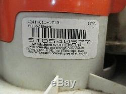 Stihl Bg 86 Main Held Alimentation Gaz Souffleuse Portable