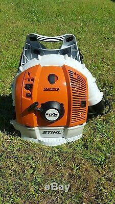 Stihl Br600 Magnum Gas Powered Backpack Souffleuse