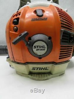 Stihl Br600 Sac À Dos Gas Powered Souffleuse