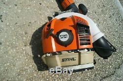 Stihl Br700 Gas Powered Backpack Souffleuse Livraison Uniquement Sur La Côte Est