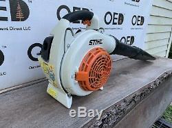 Stihl Sh86c Commercial Handheld Gaz Souffleuse 27cc Navires Rapide Bg Peine D'occasion