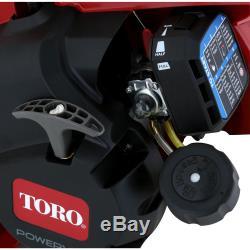 Toro 3-in-1 Gaz Poche Souffleuse À Vide Broyeuse Commercial Grade 2-cycle