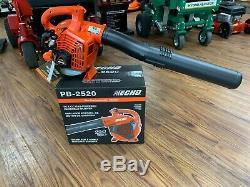 Tout Neuf Echo Pb-2520 Handheld Souffleuse 170 Mph 25.4 CC Gaz 2 453 Cfm Stroke