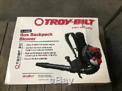 Troy-bilt Gaz Sac À Dos Souffleuse 145 Mph 27 CC À Vitesse Variable D'accélérateur 2-cycle
