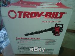 Troy-bilt Tb2bv Ce 27cc 2-cycle Gaz Souffleuse / Aspirateur Avec Jumpstart Technology