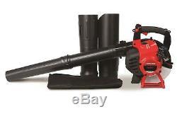 Troy-bilt Tb2bv-ce 2-cycle Gaz Souffleuse / Vac 27cc 450 Cfm